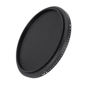 FOTGA Slim Fader Variable ND Filter Adjustable ND2 to ND400 49mm Neutral Density