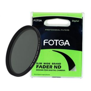 Fotga Slim Fader Variable ND Filter Adjustable ND2 to ND400 43mm Neutral Density