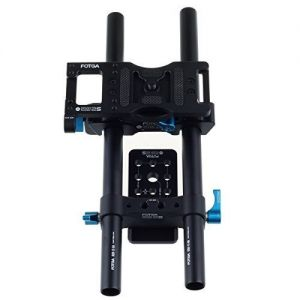 FOTGA DP500IIS DSLR 15mm rod rail support cheese baseplate rig for follow focus Matte box in film Photography