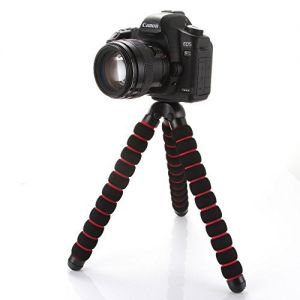 "Fotga Large Octopus Flexible Portable Camera DV Tripod 1/4"" 3/8"" Stand for Canon Nikon"
