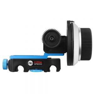 Fotga DP3000 M3 Quick Release QR Follow Focus + Gear Belt Ring for 15mm Rod Rig 5D II III A7 A7R GH3 GH4 DSLR
