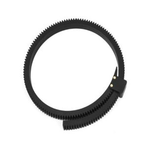 Fotga DP500II Flexible Gear Belt Ring for Follow Focus FF 46mm to 110mm (Black)