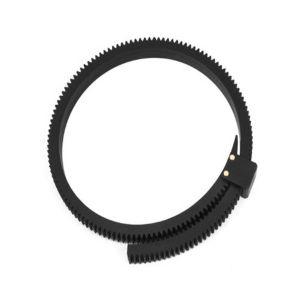Fotga DP500II Flexible Gear Belt Ring for Follow Focus FF 46mm to 110mm (Black)