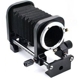 Fotga Macro Lens Bellows and 4-Way Close-up Focusing Slide Rail for Nikon AI Mount D90 D80 D70 D70s D7100 D7000 D5300