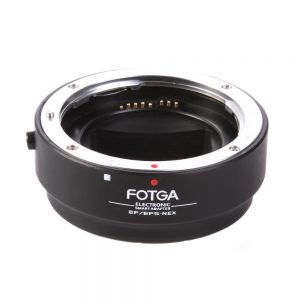 Fotga Auto Focus Af Canon Ef Ef-s EOS Lens to Sony NEX E Full Framed Mount Adapter Ring for Sony NEX-5T,NEX-7,NEX-7K,NEX-6,NEX-3,NEX-C3,NEX-F3,NEX-3N,NEX-5R,NEX-5C