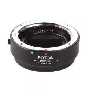 Fotga Auto Focus Af Canon Ef Ef-s EOS Lens to Sony NEX E Full Framed Mount Adapter Ring for Sony NEX-5T,NEX-7,NEX-7K,NEX-6,NEX-3,NEX-C3,NEX-F3,NEX-3N,NEX-5R,NEX-5C