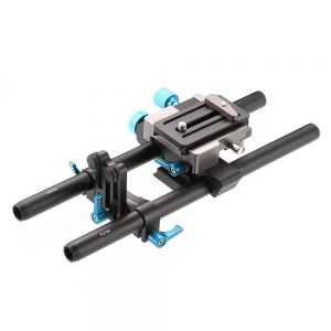 Fotga DP500III Quick Release 15mm Rail Rods Plate for Blackmagic BMCC  5DII 5DIII 5DIV A7R A7S GH3 GH4 DSLR