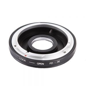 Fotga Lens Adapter for Canon FD/FC Lens to Nikon AI F Mount Camera