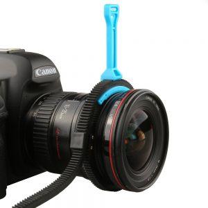 Fotga DSLR Zoom Follow Focus handle Lever + flexible gear belt ring (Grey)