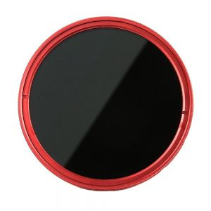 Fotga 67mm Slim Fader ND Lens Filter Adjustable Variable Neutral Density ND2 to ND400 (RED)