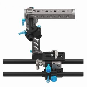 Fotga DP500III Quick Set Up Rig with 15mm Standard Quick Release Rail Rod Plate Rotatable Handle Camera Cage for Blackmagic BMCC BMPCC 5DII III A7 A7S A7R2 A7RM2 GH3 GH4 7D D7000 D7100 D750 D800 DSLR