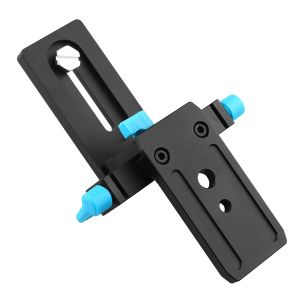 FOTGA DP3000 15mm Rail Rod Support Baseplate for DSLR Follow Focus Mattebox Rig (M1)