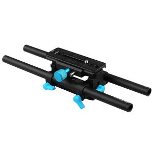 Fotga DP3000 M4 15mm Rod Rail Rig Quick Release Baseplate for DSLR Follow Focus