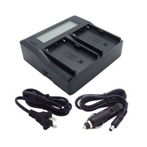 BC-U2 Dual-Channel Charger for Sony BP-U30 BP-U60 BP-U90 Batteries