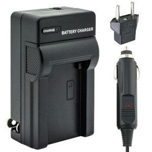 Panasonic DE-A83 DMW-BTC4 Replacement Battery Charger Kit for Panasonic DMW-BMB9 Digital Camera Battery