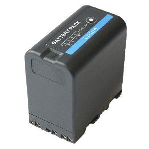 BP-U60 Battery for Sony Camcorders, Li-Ion, 5900mAh