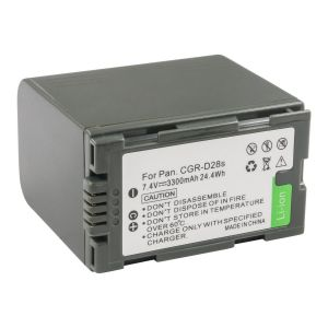 Panasonic CGR-D320 CGR-D28A/1B VW-VBD25 Li-Ion Rechargeable Camcorder Battery