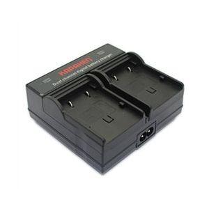 Dual Channel Charger for JVC BN-VF707U, BN-VF714U, and BN-VF733U Batteries