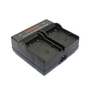 Dual Channel Charger for JVC BN-VG107, BN-VG108, BN-VG114, BN-VG121, BN-VG138 Batteries