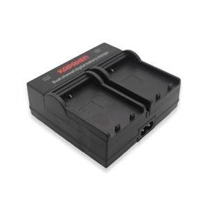 Dual Channel Charger for Nikon EN-EL14 / EN-EL14a Batteries