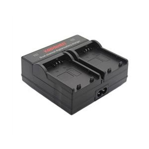 Dual Channel Charger for Canon LP-E5 Digital Camera Battery