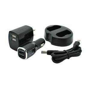 Dual Channel USB Charger for Nikon EN-EL15 Batteries