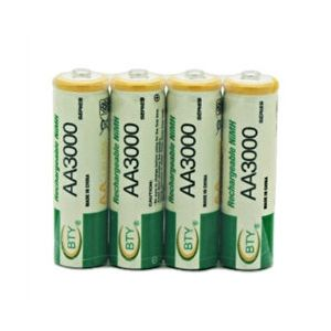 New 4 X AA Size Rechargeable NiMH Batteries for Kodak Digital Cameras