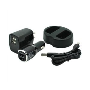 Dual Channel USB Charger for Canon LP-E6 / LP-E6N Batteries