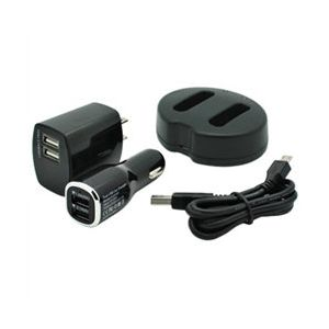 Dual Channel USB Charger for Canon NB-12L Batteries