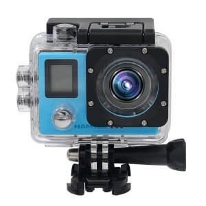 HAMTOD H6A 4K 30fps WIFI Waterproof Sport Camera with Remote Control Set