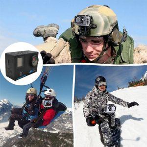 HAMTOD H12 4K WIFI Anti Shake Waterproof Vlog Loop Video Sport Camera
