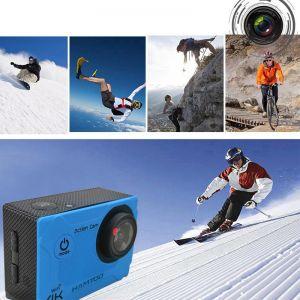 HAMTOD S9 4K WIFI Anti Shake Waterproof Vlog Loop Video Sport Camera