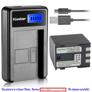 Replacement Battery LCD USB Charger for Canon NB-2L24 NB-2L Canon MV901 MV920 MV920i