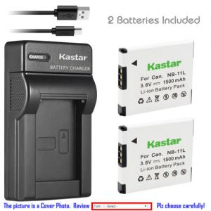 Replacement Battery Slim Charger for Canon NB-11L NB-11LH and Canon A2500 Canon A2600
