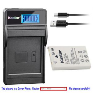 Replacement Battery LCD Charger for Nikon EN-EL5 MH-61 and Nikon Coolpix P500 Camera