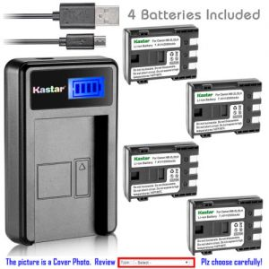 Replacement Battery LCD Charger for Canon NB-2L NB-2LH and Canon EOS Digital Rebel XT