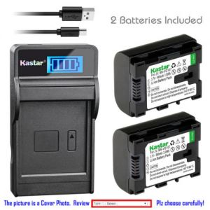 Replacement Battery LCD Charger for JVC BN-VG107 JVC Everio GZ-MG750 Everio GZ-MG760