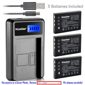 Replacement Battery LCD Charger for Kodak KLIC-5000 and Kodak EasyShare One Zoom Camera