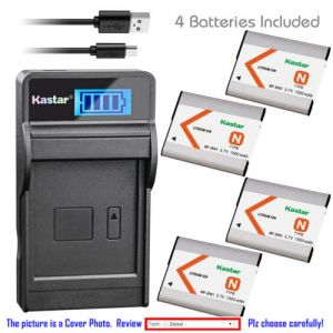 Replacement Battery LCD USB Charger for Sony NP-BN1 BC-CSN and Sony Cyber-shot DSC-W610