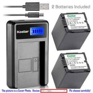 Replacement Battery LCD USB Charger for HITACHI DZ-BP7S DZ-HS303 DZ-HS303A DZ-HS303E