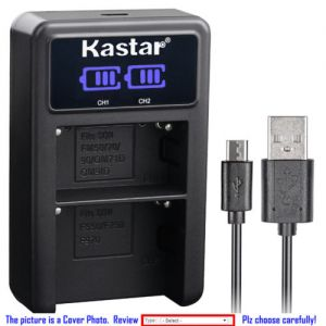 Replacement Battery LCD Dual USB Charger for Sony Camera DCR-VX9DCR-VX9000 DSR-DU1