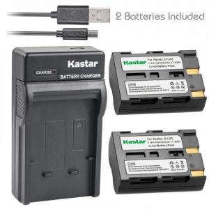 Replacement DLi50 Battery Charger for Pentax D-Li50 Konica Minolta NP-400 Sigma BP-21
