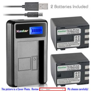 Replacement Battery LCD USB Charger for Canon NB-2L24 NB-2L and Canon MV930 MV940 MV950