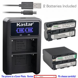 Replacement Battery LCD Dual Charger for Sony NP-F550 CCD-TRV17 CCD-TRV201 CCD-TRV215