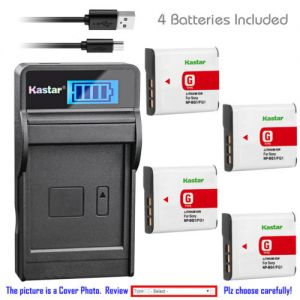 Replacement Battery LCD Charger for Sony NP-BG1 NP-FG1 Sony Cyber-shot DSC-H9 Camera