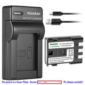 Replacement Battery Slim Charger for Canon NB-2L CB-2LW and Canon EOS Digital Rebel XT