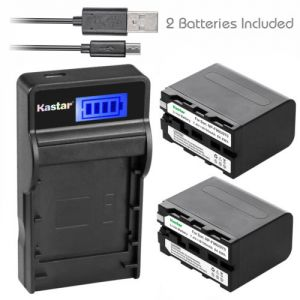 Replacement Battery Charger Sony NP-F960 NP-F970 NP-F975 F950 BC-VM10 BC-VM50 BC-V615