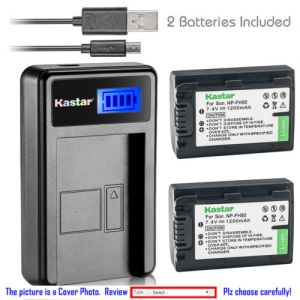 Replacement Battery LCD Charger for Sony NP-FH50 Sony DSLR-A330L DSLR-A330Y DSLR-A380