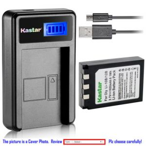 Replacement Battery LCD Charger for Olympus Li-10B Sanyo Xacti DSC-MZ3 Xacti DSC-MZ3S