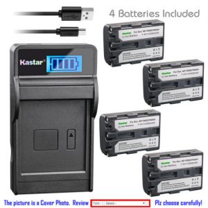 Replacement Battery LCD Charger for Sony NP-FM50 Sony DCR-TRV40 DCR-TRV430 DCR-TRV460